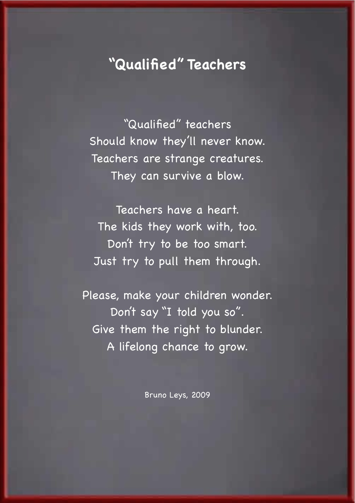 Poems About Retirement From Teaching - Lawteched