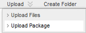 Upload Package optie in Toledo+ in 9.1